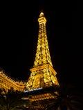 Hotel di Parigi e casinò Las Vegas Fotografia Stock
