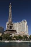 Hotel di Parigi e casinò Las Vegas immagini stock libere da diritti