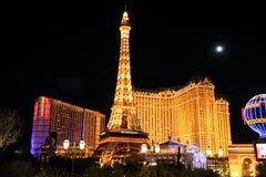 Hotel di Parigi a Las Vegas Immagini Stock
