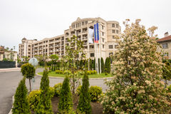 Hotel di Pomoriets in Burgas, Bulgaria Immagine Stock
