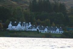 Hotel di Portsonachan, timore del lago, Scozia 2012 Immagini Stock Libere da Diritti