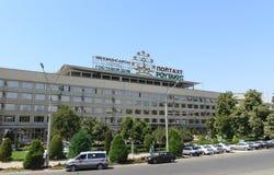 Hotel di Poytaht, Dušanbe, Tagikistan Immagini Stock Libere da Diritti