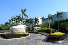 Hotel di ricorso tropicale Fotografia Stock