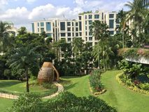 Hotel di Shangrila, Singapore Fotografie Stock Libere da Diritti