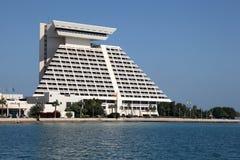 Hotel di Sheraton a Doha, Qatar Fotografia Stock