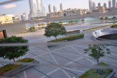 Hotel di Souk Al Bahar Area Dubai Fountain Address Immagini Stock