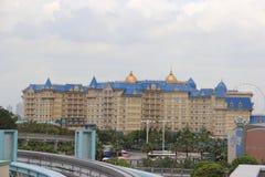 Hotel di Tokyo Disneyland Fotografie Stock Libere da Diritti