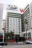 Hotel di W, esterni di Hollywood Hollywood Fotografie Stock