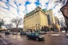 Hotel di Winnipeg immagine stock