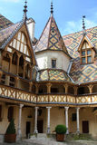 Hotel Dieu, in Beaune Royalty Free Stock Images