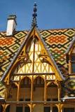 Hotel Dieu di Hospices de Beaune Fotografie Stock