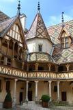 Hotel Dieu, en Beaune Imágenes de archivo libres de regalías