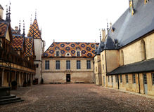 Hotel dieu or Hospices de Beaune Royalty Free Stock Photos