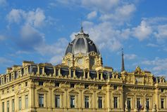 Hotel- dieu hospital in paris Royalty Free Stock Image