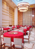 Hotel Dining Hall. This is a luxury hotel dining hall interior Stock Photography