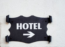 Hotel display Stock Photography
