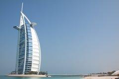 Hotel do árabe do Al de Burj Fotos de Stock Royalty Free