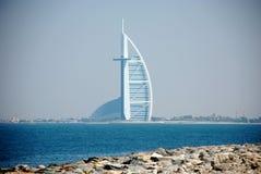 Hotel do árabe do al de Burj imagem de stock royalty free