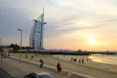 Hotel do árabe do al de Burj Foto de Stock Royalty Free