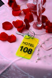 Hotel do amor Fotografia de Stock Royalty Free