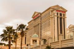 Hotel do Caesars Palace e casino, Las Vegas Foto de Stock Royalty Free