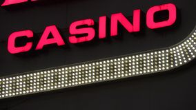 Hotel do casino, jogando, Atlantic City, Las Vegas vídeos de arquivo