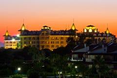 Hotel do castelo no peru Fotografia de Stock Royalty Free