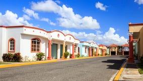 Hotel do cinema ao ar livre na República Dominicana Imagem de Stock