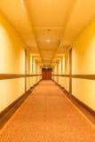 Hotel do corredor Fotos de Stock Royalty Free