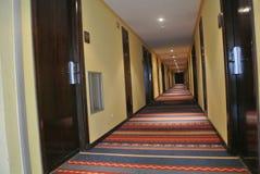 Hotel do corredor Imagem de Stock Royalty Free