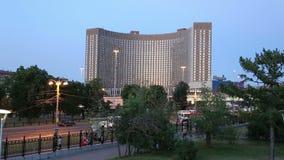 Hotel do cosmos (opinião), Moscou da noite, Rússia filme