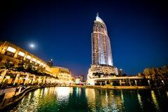 Hotel do endereço em Dubai Imagem de Stock Royalty Free