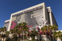 Hotel do flamingo no tempo em Las Vegas, nanovolt do dia o 26 de junho de 2013 Fotografia de Stock