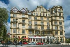 Hotel do império no banho, Somerset, Inglaterra Imagem de Stock Royalty Free