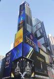 Hotel do Times Square de W durante a semana do Super Bowl XLVIII em Manhattan Foto de Stock