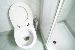 hotel do toalety Zdjęcia Stock