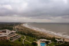 Hotel do turista de Laguna - Santa Catarina - Brasil Foto de Stock Royalty Free