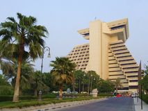 A hotel in Doha Royalty Free Stock Photography