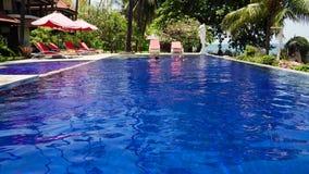 Hotel door overzees Indonesi?, Bali stock videobeelden
