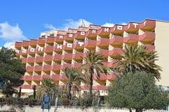 Hotel dos grafittis Imagens de Stock