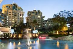 Hotel in Doubai Stock Afbeelding
