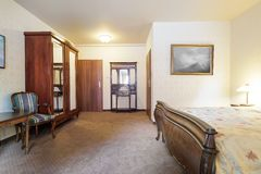 Hotel double room Stock Images