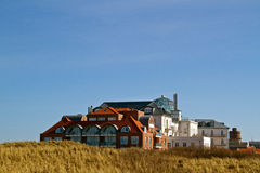 Hotel in the dunes Stock Photography