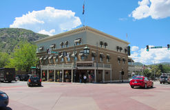 Hotel in Durango Stockfotografie