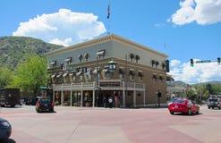 Hotel in Durango Stock Photography