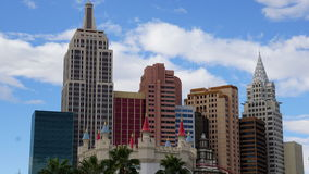 Hotel e casinò di New York New York a Las Vegas Fotografia Stock Libera da Diritti