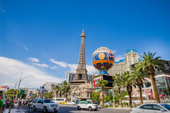 Hotel e casinò di Parigi Immagini Stock