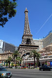 Hotel e casinò di Parigi Las Vegas Immagini Stock Libere da Diritti
