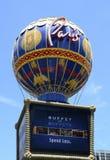 Hotel e casinò di Parigi a Las Vegas Fotografie Stock Libere da Diritti