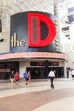 Hotel e casino de D Las Vegas Imagens de Stock Royalty Free